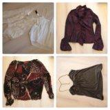 Брендовые блузки в ассортименте. Фото 1.