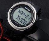 Часы с пульсометром и шагомером, водонепроницаемые. Фото 2.