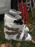 Горнолыжные ботинки 38-39 р-р. Фото 1.