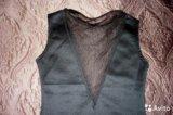 Коктейльное платье со стразами. новое. Фото 4.