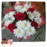Букет цветов. Фото 1.