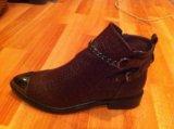 Новые ботинки 37 размер. Фото 1.