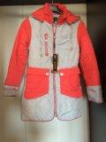 Новое пальто для девочки р.152. Фото 1.