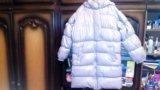 Куртка-пуховик натуральный. Фото 1.