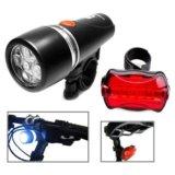 Комплект фонарей для велосипеда.. Фото 1.