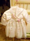 Платье нарядное(с повязкой и балеро). Фото 2.