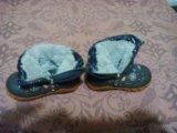 Сапожки зимние 20 размер,. Фото 1.
