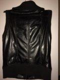 Кожаный жилет. Фото 3.