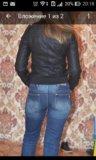 Курточка кожзам. Фото 2.