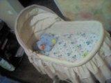 Детская кроватка -люлька. Фото 1.