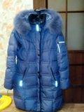 Пуховик зимний женский. Фото 1.