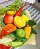 Букет из фруктов. Фото 1.