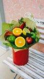 Букет из фруктов. Фото 2.