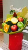 Букет из фруктов. Фото 3.