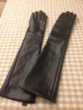 Перчатки длинные. Фото 1.
