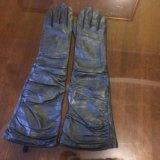 Перчатки новые кожа. Фото 3.