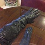 Перчатки новые кожа. Фото 4.