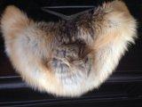 Шуба норковая с лисой. Фото 1.