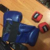 Бинты и перчатки. Фото 1.