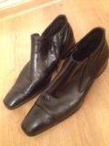 Туфли мужские кожаные,45. Фото 2.