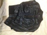 Кожаная куртка zara. Фото 4.