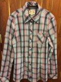 Новая рубашка в клетку. Фото 1.