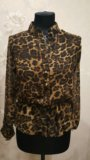 Леопардовая блузка. Фото 1.