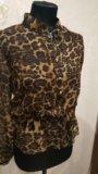 Леопардовая блузка. Фото 3.
