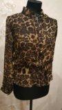 Леопардовая блузка. Фото 4.