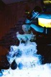 Пирамиды из бокалов. Фото 1.