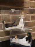 Свадебные фигурки для торта. Фото 1.