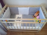 Бортики в кроватку. Фото 3.