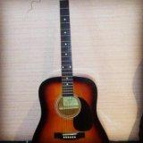 Гитара акустическая шестиструнная adams. Фото 1.