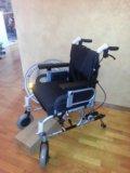 Коляска инвалидная новая. Фото 4.