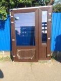 Новые двустворчатые ламинированные мп двери kbe. Фото 1.