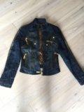 Куртка джинсовая утепленная gizia. Фото 2.