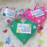 Сердечки для мамы и бабушки.. Фото 2.