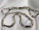 Новая золотая цепь cartier 585 пр. 45 гр, 60 см. Фото 1.