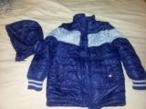 Куртка 2 в 1 демисез 128. Фото 1.