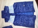 Куртка 2 в 1 демисез 128. Фото 4.