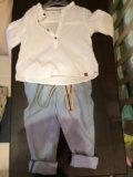 Рубашка zara для мальчика. Фото 2.