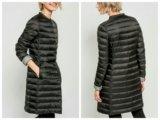 Черное пуховое пальто. Фото 4.