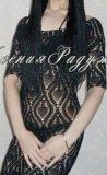 Платье ручная вязка. Фото 1.