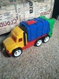"""Детский автомобиль """"мусоровоз"""". Фото 1."""