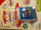 Игрушечная детская кухня с посудой. Фото 2.