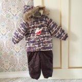 Зимний костюм для мальчиков huppa (эстония) 80 см. Фото 1.