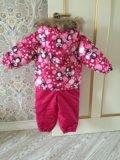 Зимний комплект для девочек huppa (эстония). Фото 2.