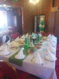Аренда банкетного текстиля на свадьбу. Фото 3.