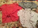 Три болеро под майки платья. Фото 1.