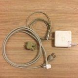 Зарядное устройство magsafe 85w a1343. Фото 1.